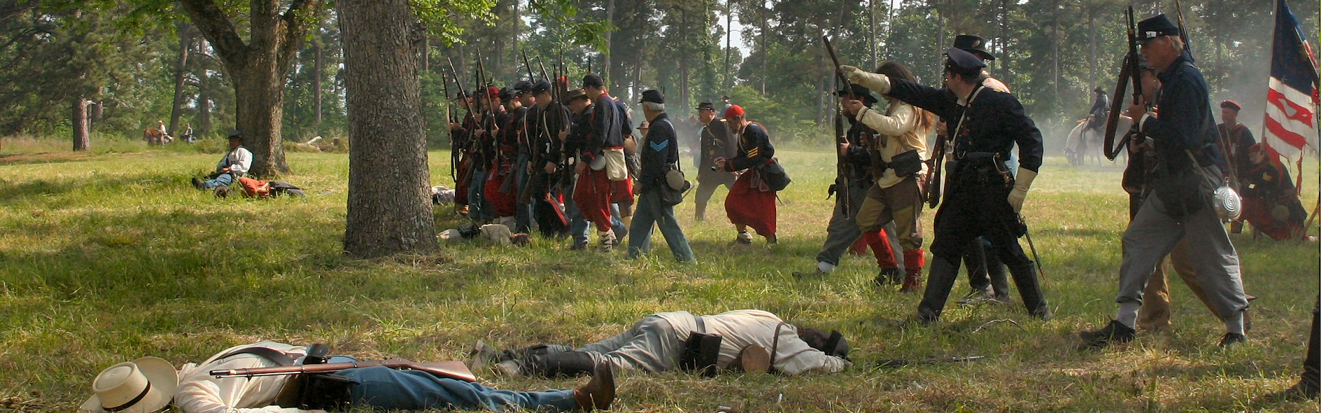 Jefferson TX Civil War Reenactment