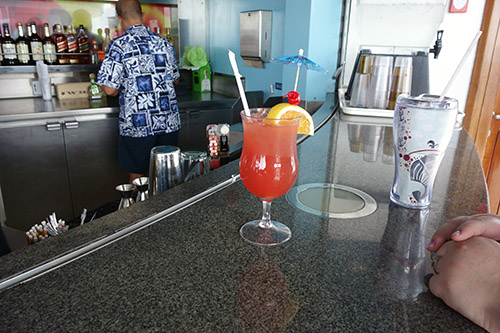 Alcohol drinks flow freely on Royal Caribbean's Navigator of the Seas on our Caribbean Cruise vacation