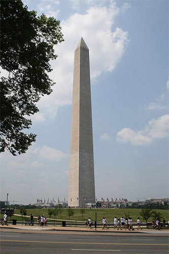 Photo from the Washington Monument in Washington DC
