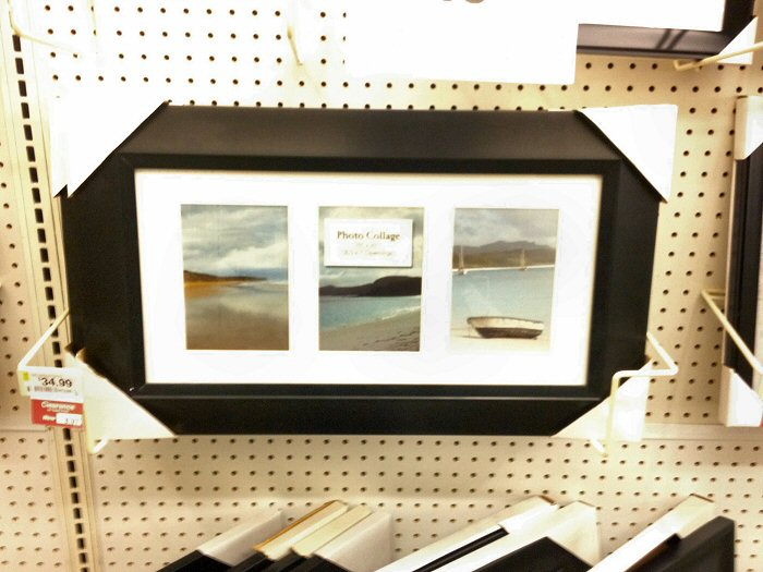 i stopped by a local joanns and found a few varieties of frames in these pictures you will see several good options for displaying panoramas